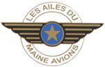 Les ailes du Maine Avion Logo